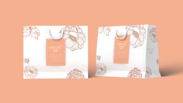 輕萃服飾品牌包裝設計