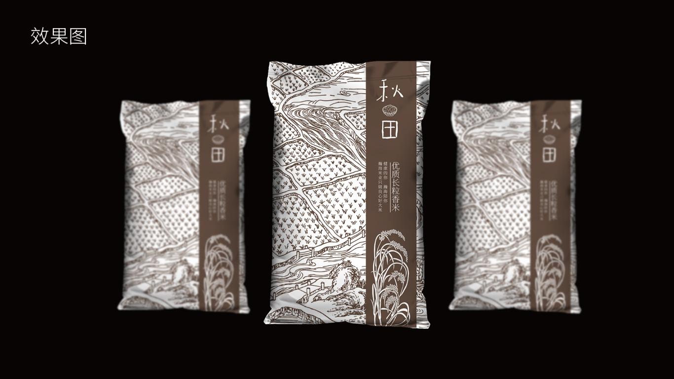 集利長粒大米包裝設計中標圖3