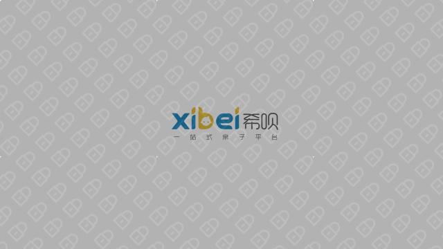 希呗网络科技公司LOGO设计入围方案2