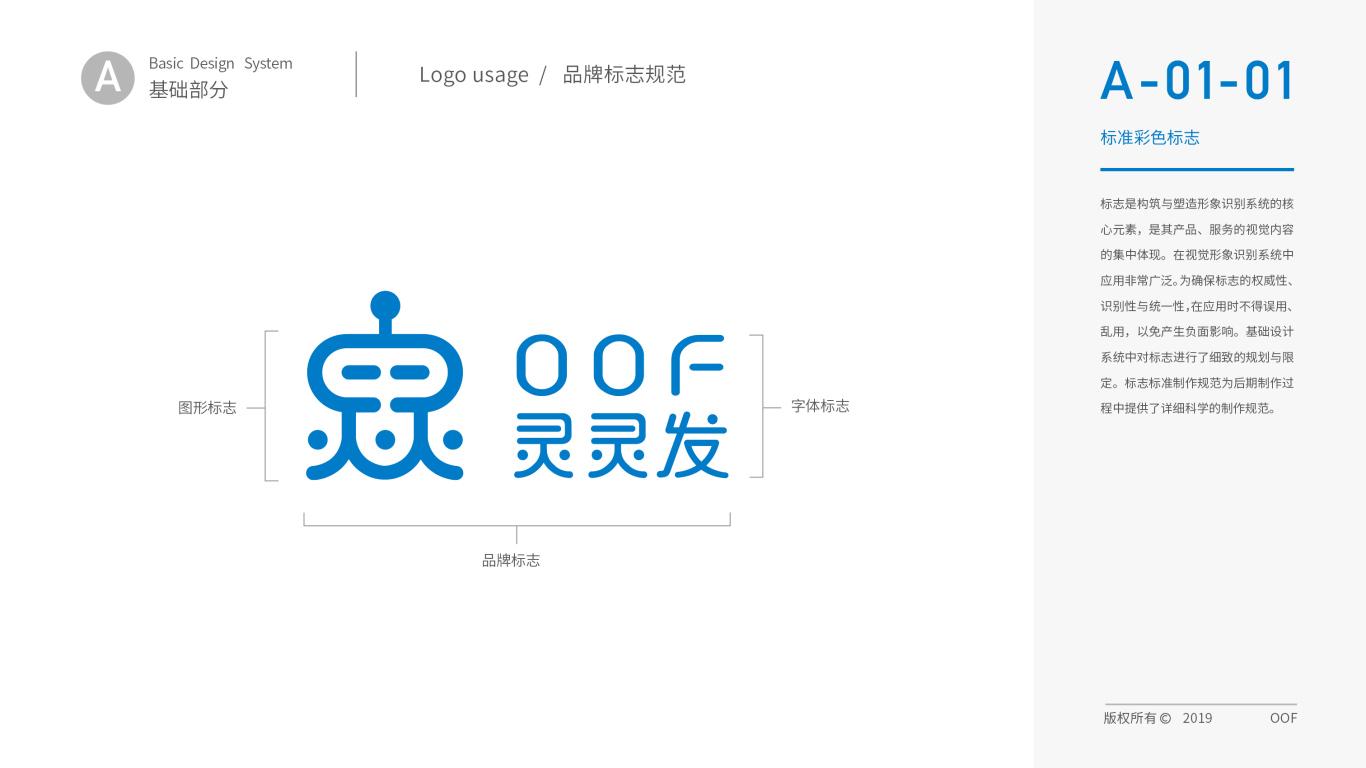 灵灵发机器人品牌VI设计中标图2