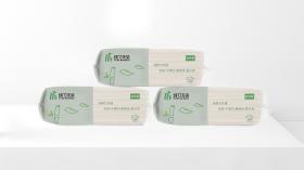 純竹無染抽紙品牌包裝設計