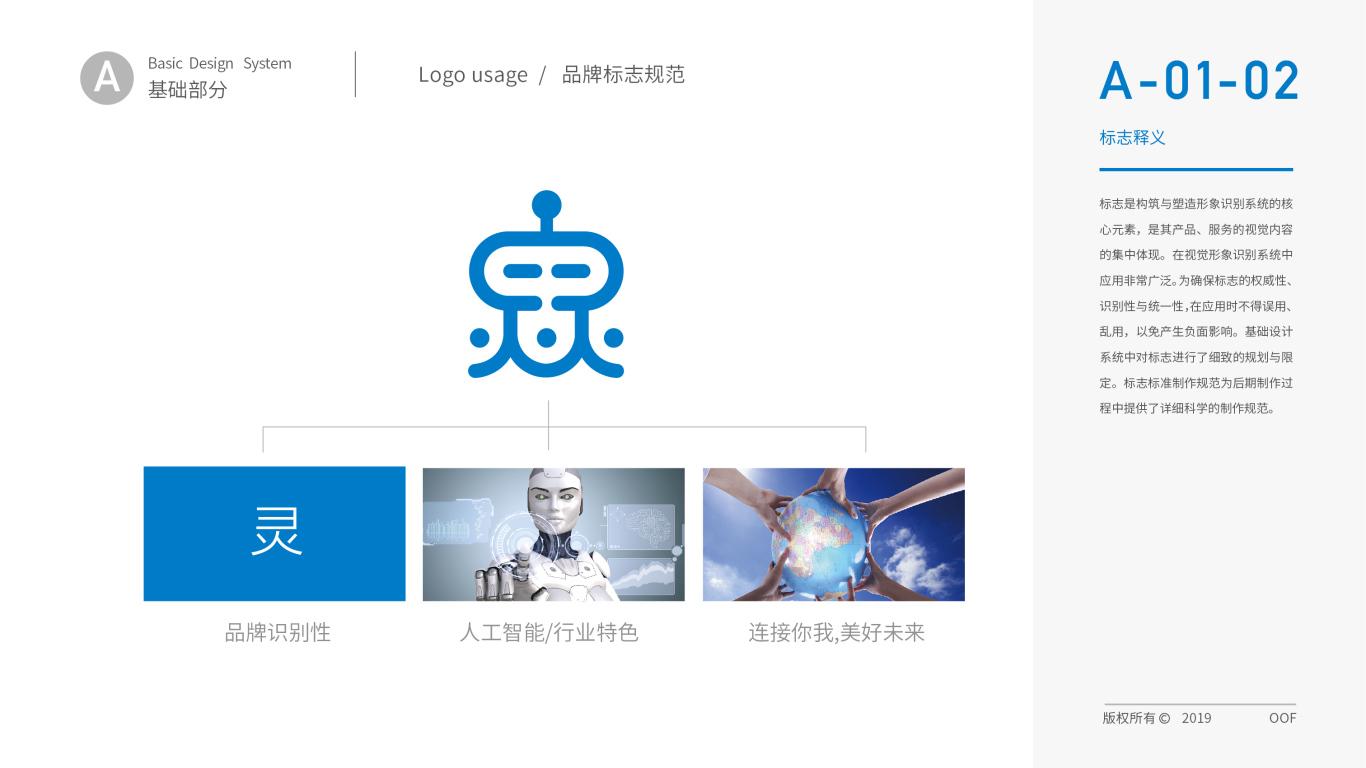 靈靈發機器人品牌VI設計中標圖3