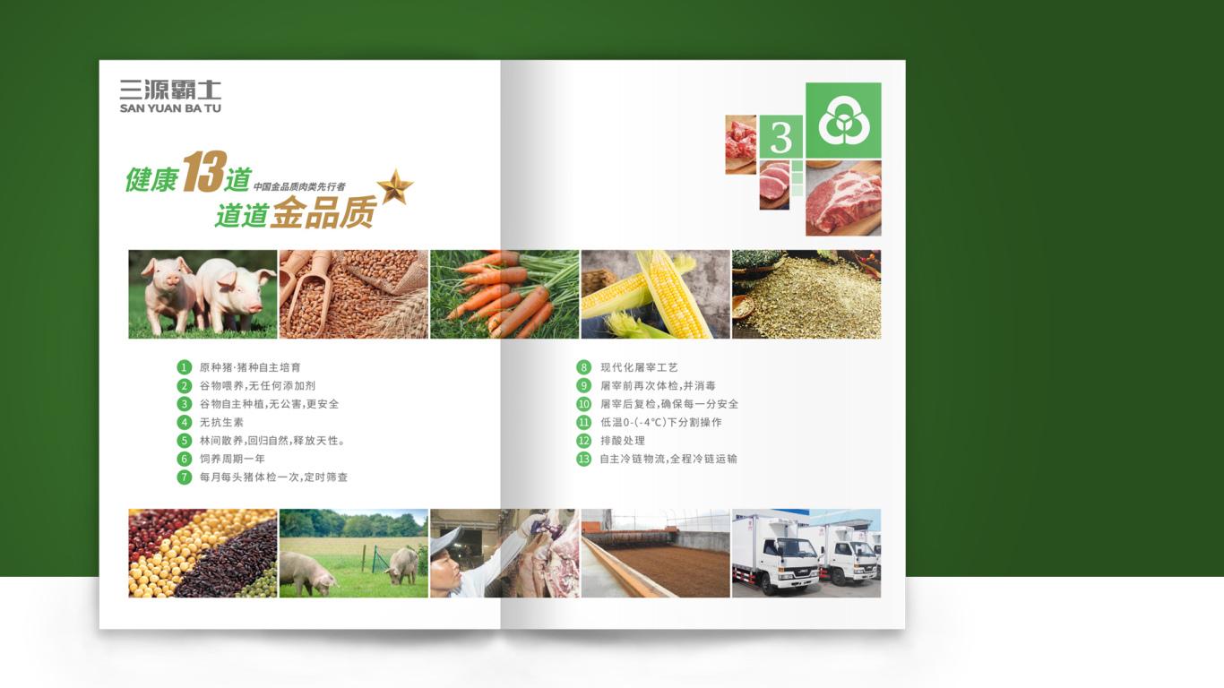 林西绿家园商贸公司画册设计中标图1