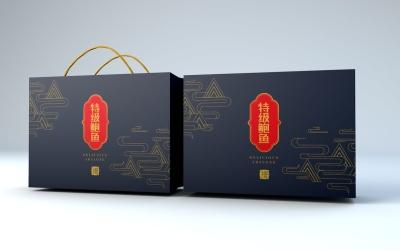 鮑魚禮盒包裝