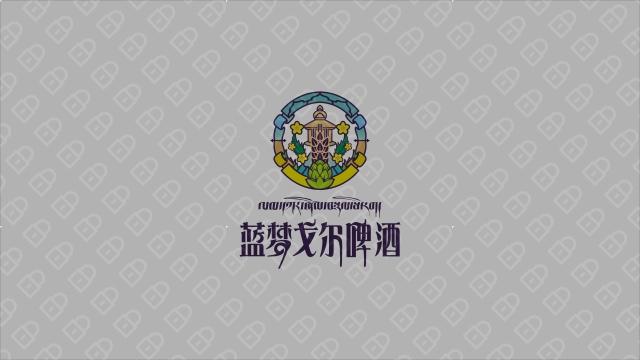 藍夢戈爾西藏啤酒品牌LOGO設計入圍方案3