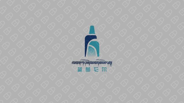 蓝梦戈尔西藏啤酒w88优德LOGO设计入围方案2