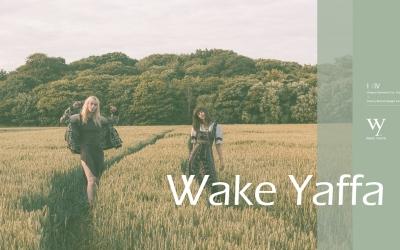 WAKE YAFFA服裝標志設計