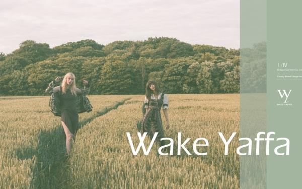 WAKE YAFFA服装标志设计