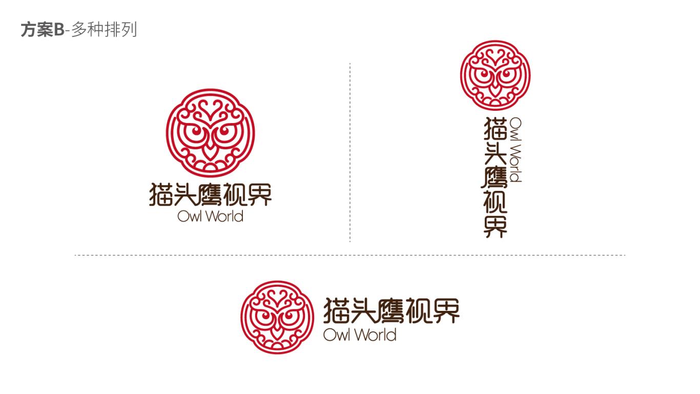 猫头鹰视界保健品LOGO设计中标图2