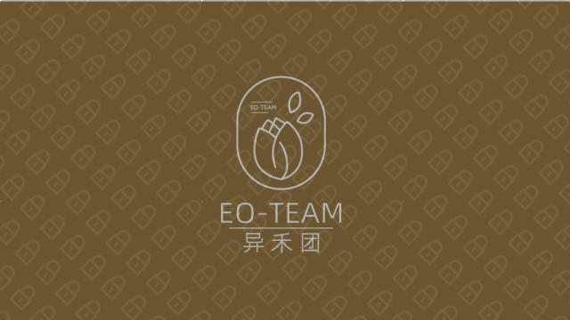 異禾團美容美發公司LOGO設計入圍方案4