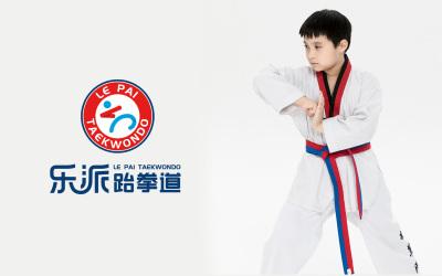 乐派跆拳道logo设计