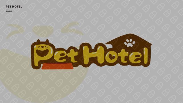 寵物旅店品牌LOGO設計入圍方案1