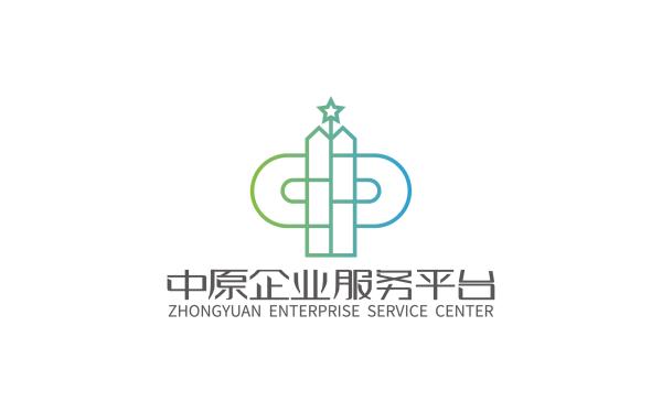 中原企業服務平臺品牌標志設計