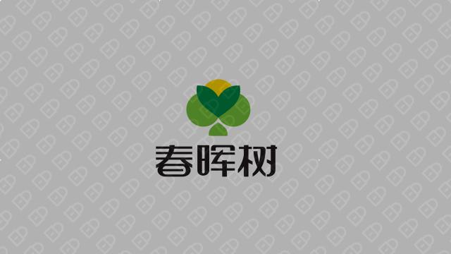 春晖树餐饮品牌LOGO设计入围方案2
