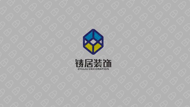 铸居装饰公司LOGO设计入围方案7