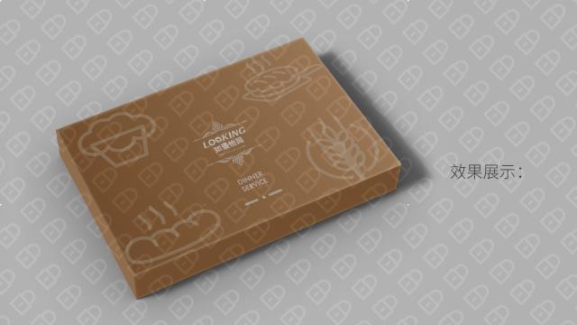 如景怡園蛋糕餐具品牌包裝設計入圍方案2