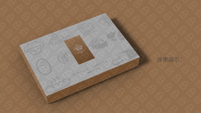 如景怡園蛋糕餐具品牌包裝設計入圍方案3