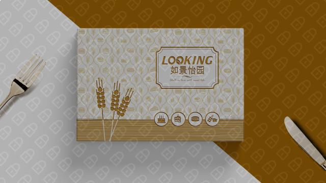 如景怡園蛋糕餐具品牌包裝設計入圍方案0