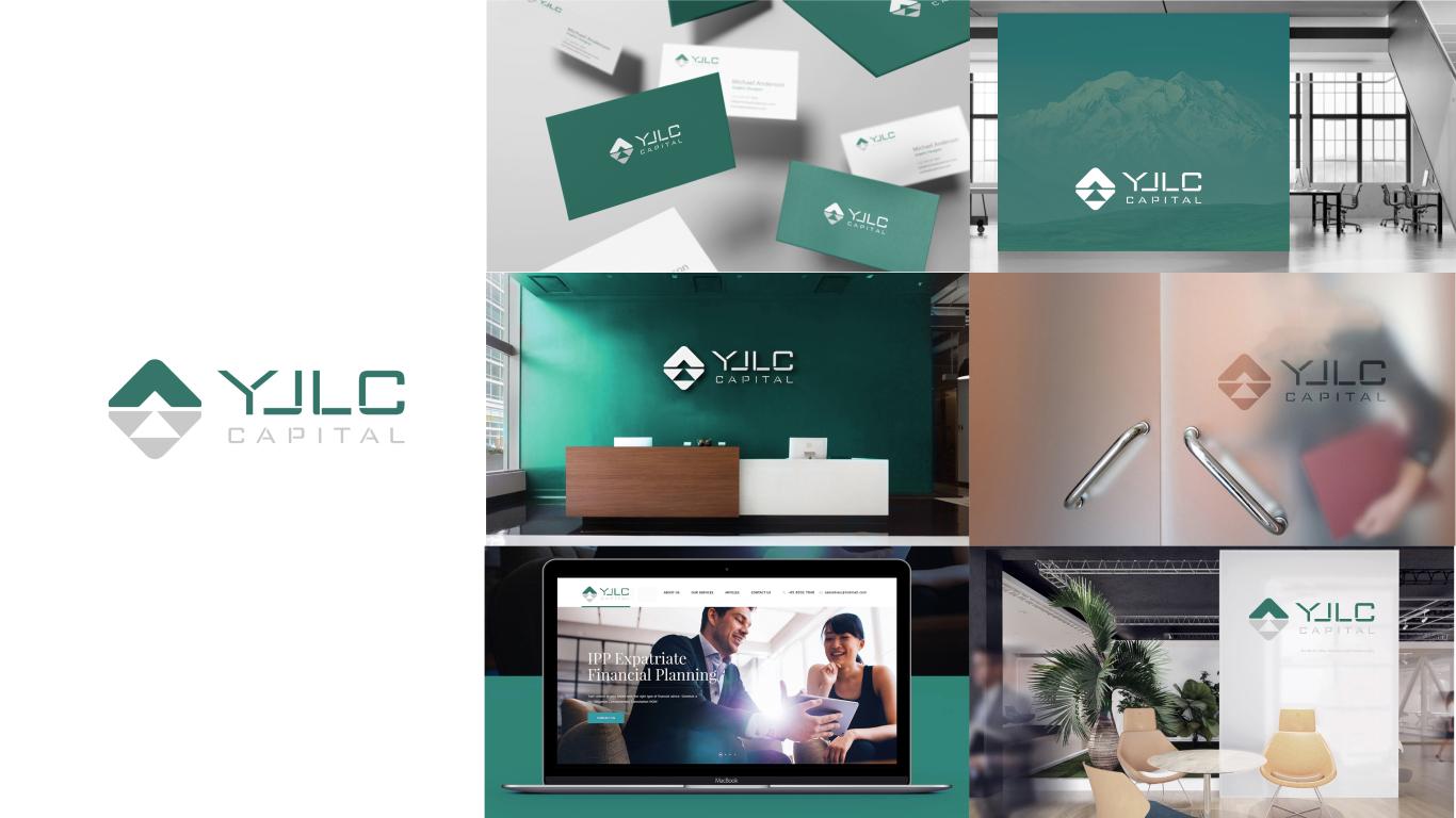 健瓴资本管理公司LOGO设计中标图5