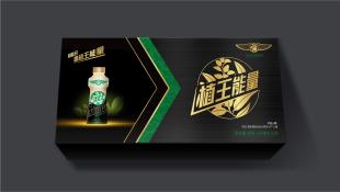 涡能特饮植物功能饮料包装设计