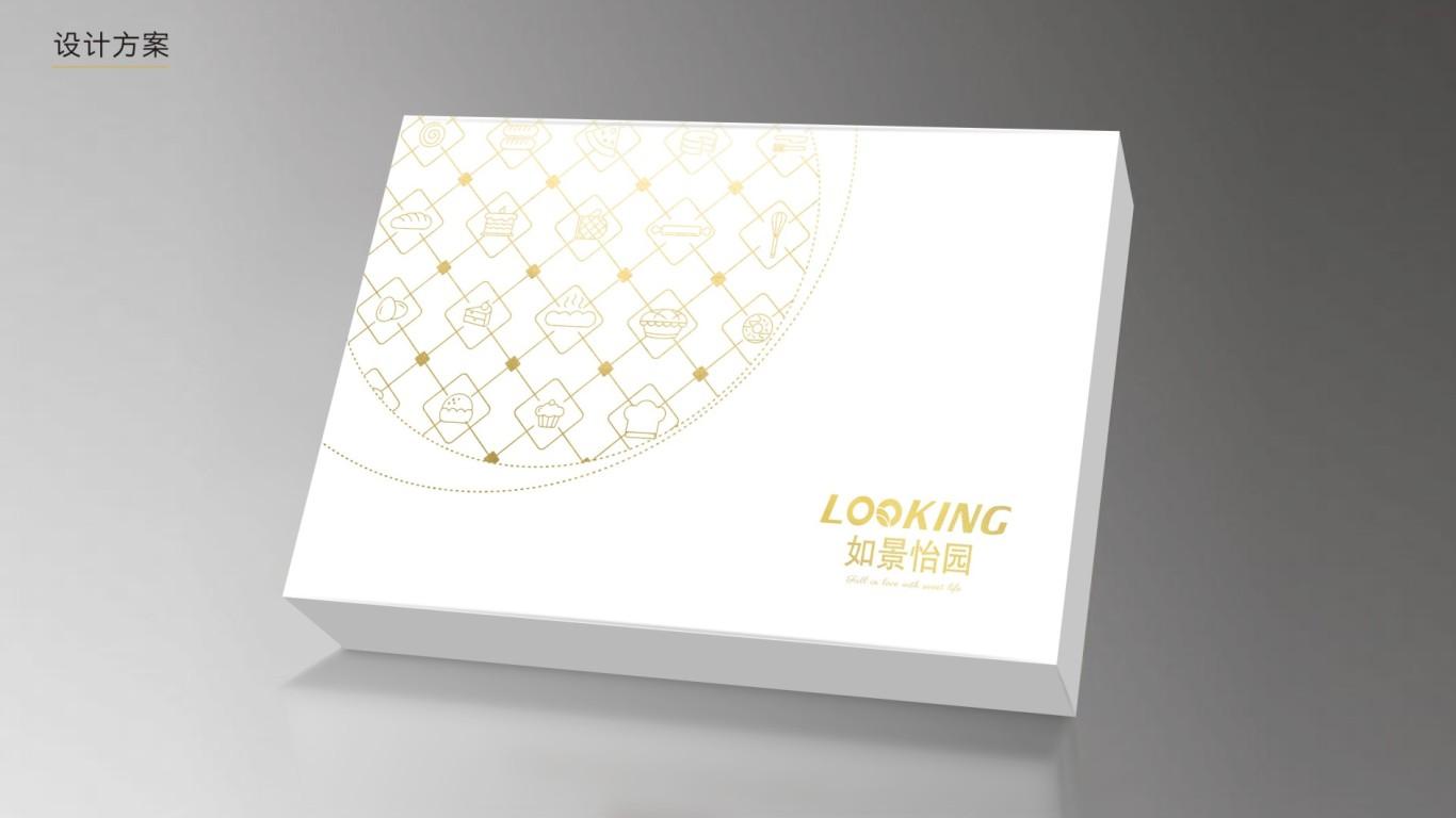 如景怡園蛋糕餐具品牌包裝設計中標圖1