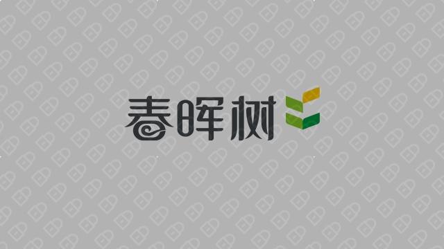 春晖树餐饮品牌LOGO设计入围方案4