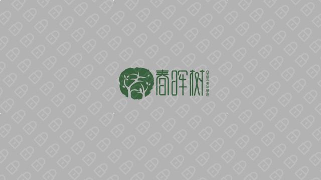 春晖树餐饮品牌LOGO设计入围方案3