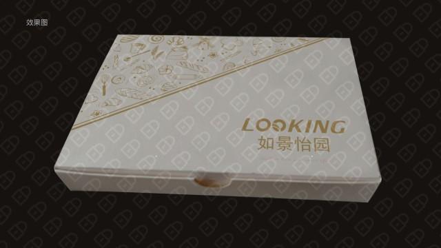 如景怡園蛋糕餐具品牌包裝設計入圍方案6