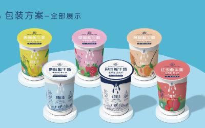 绿牧德品奶包装