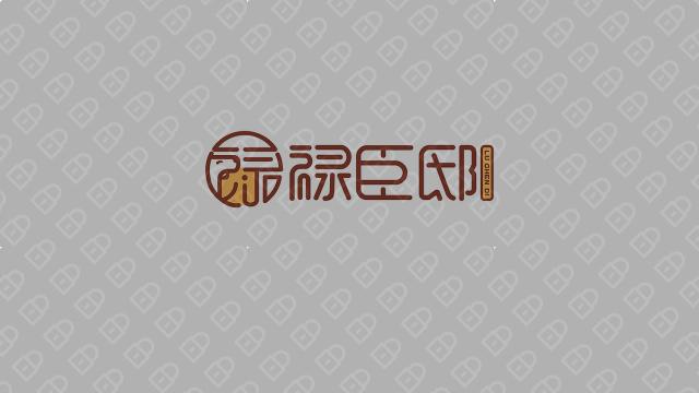 祿臣邸寵物品牌LOGO設計入圍方案3