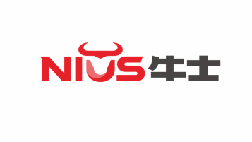 Nius牛士電子品牌LOGO設計