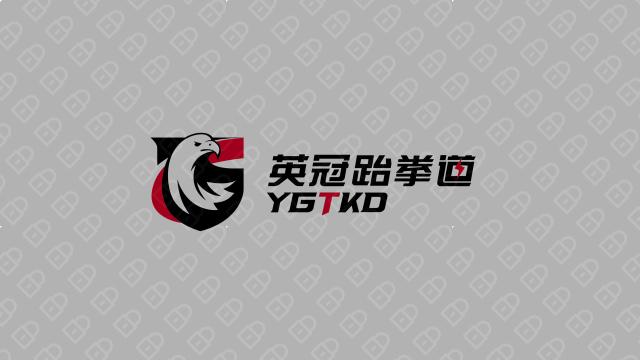 英冠跆拳道品牌LOGO设计入围方案0
