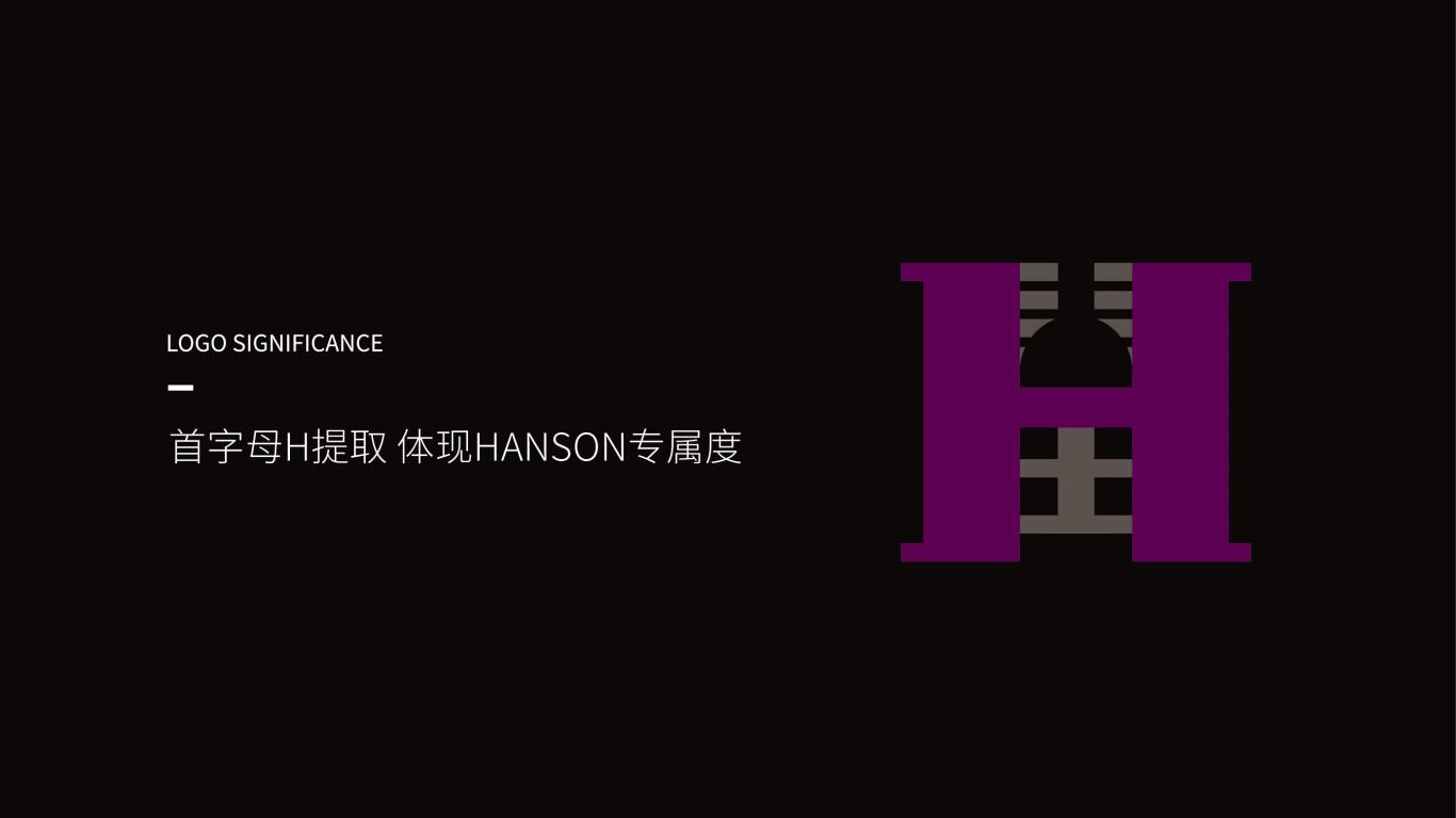 HANSON紅酒品牌LOGO設計中標圖1