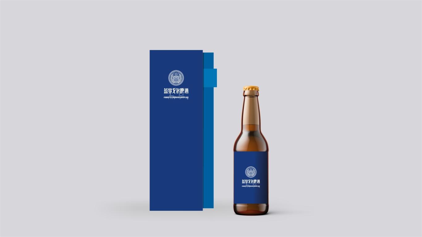 蓝梦戈尔西藏啤酒w88优德LOGO设计中标图7