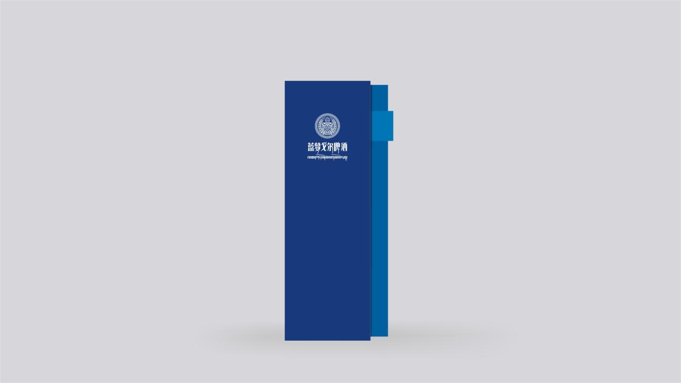 蓝梦戈尔西藏啤酒w88优德LOGO设计中标图4