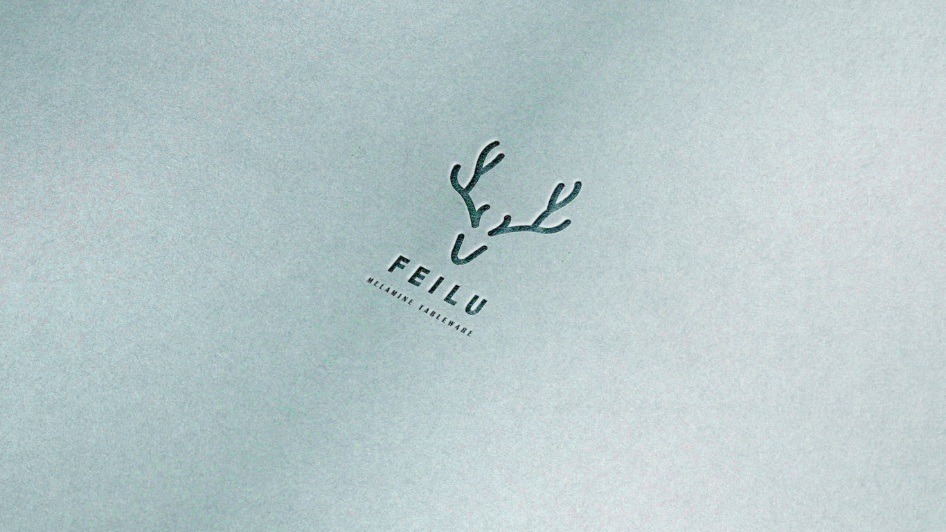 飛鹿日化品牌LOGO設計中標圖3
