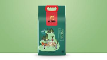 应天福大米品牌包装设计