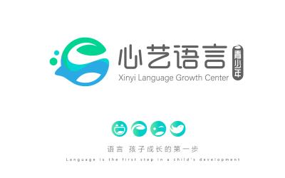 心艺语言logo
