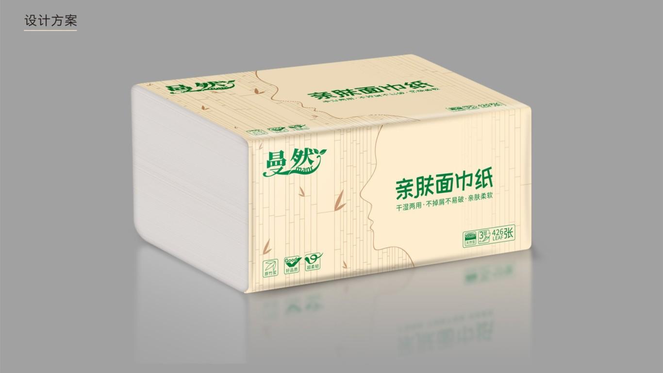 曼然日用品品牌包裝設計中標圖1