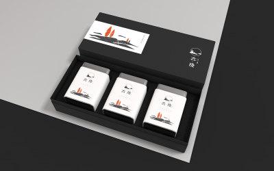大隱紅茶logo及包裝設計