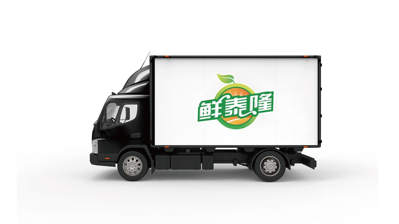 鲜泰隆生鲜店铺LOGO设计中标图4