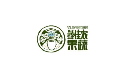 彝佳農果蔬logo設計