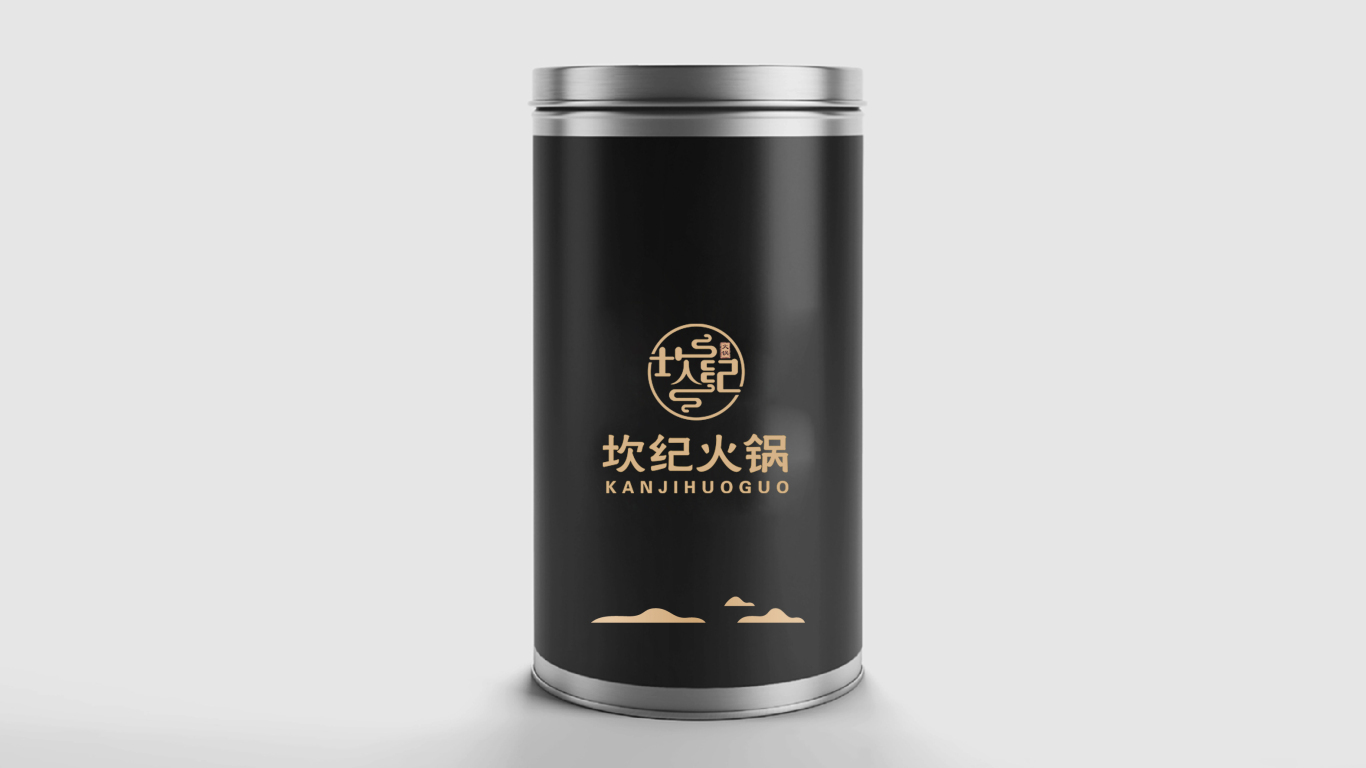 坎纪火锅品牌LOGO设计中标图4