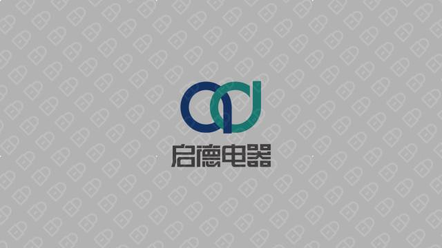 启德科技公司LOGO万博手机官网入围方案1