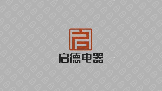启德科技公司LOGO万博手机官网入围方案4