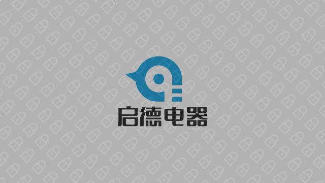 启德科技公司LOGO万博手机官网入围方案3