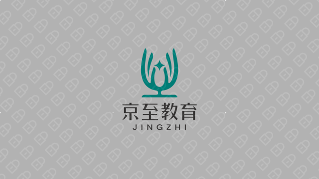 京至教育公司LOGO设计入围方案2