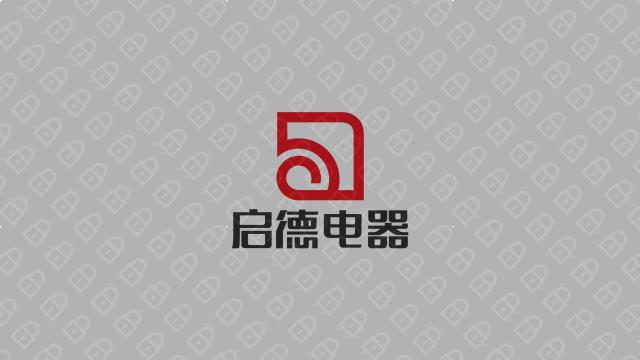 启德科技公司LOGO万博手机官网入围方案2