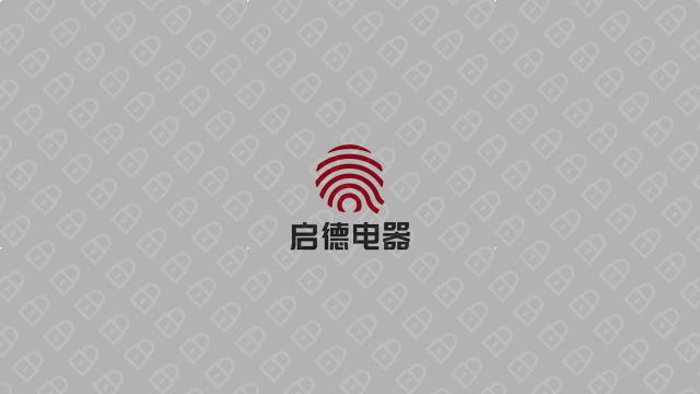 启德科技公司LOGO万博手机官网入围方案5