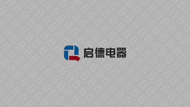 启德科技公司LOGO万博手机官网入围方案6